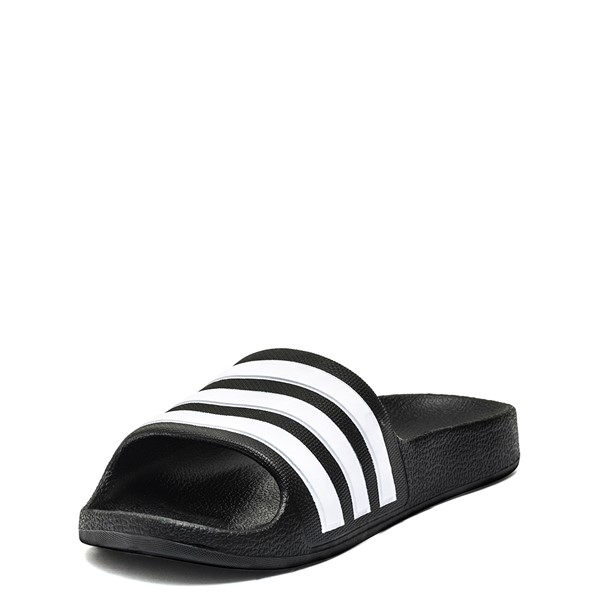 alternate image alternate view adidas Adilette Shower Slide Sandal - Little Kid / Big KidALT2