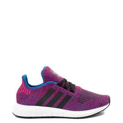 Main view of adidas Swift Run Athletic Shoe - Little Kid