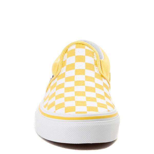 alternate image alternate view Vans Slip On Chex Skate Shoe - Little Kid / Big KidALT4