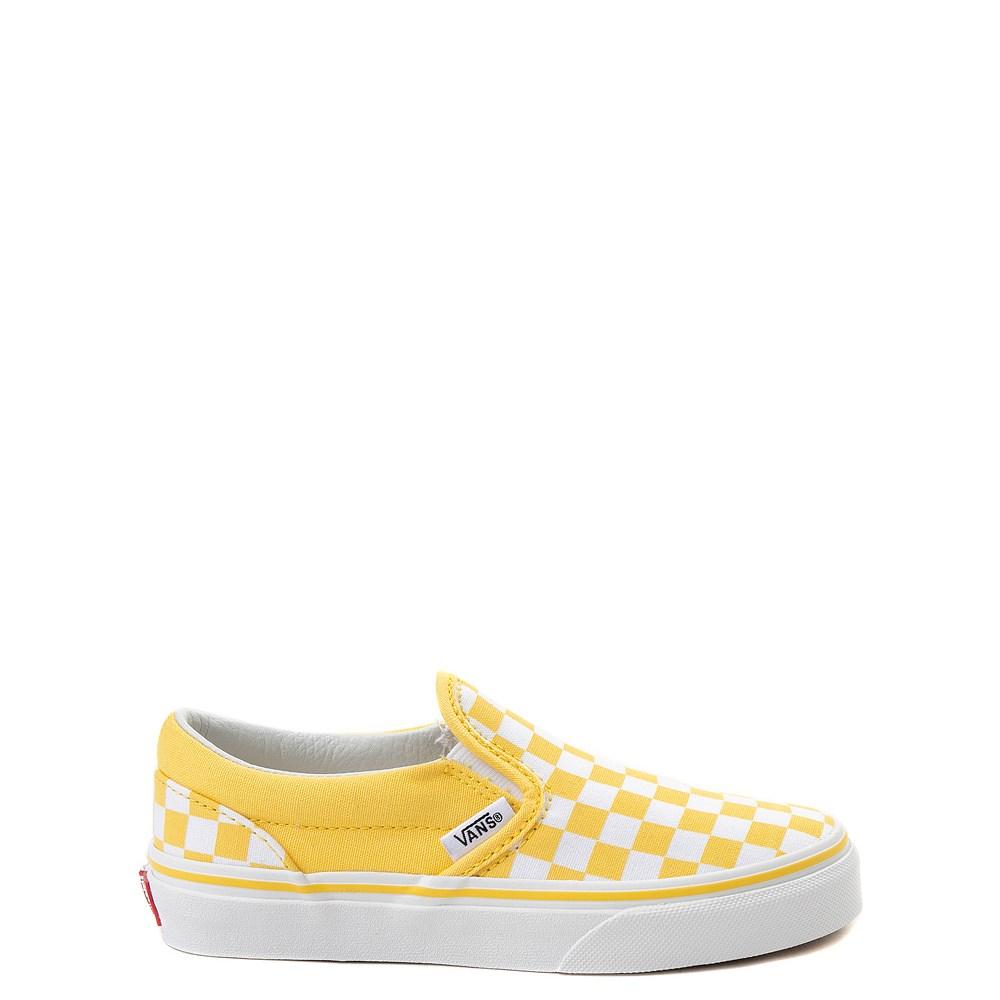 Vans Slip On Chex Skate Shoe - Little Kid / Big Kid