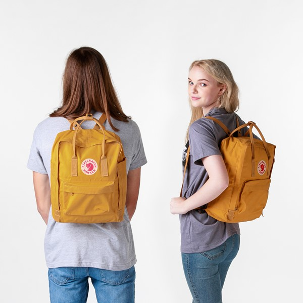 alternate image alternate view Fjallraven Kanken Backpack - YellowALT1BADULT