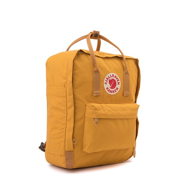 alternate image alternate view Fjallraven Kanken Backpack - YellowALT4B