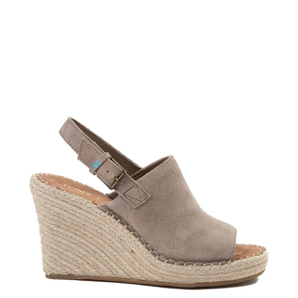 Womens TOMS Monica Espadrille Wedge