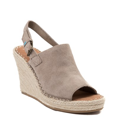 Alternate view of Womens TOMS Monica Espadrille Wedge
