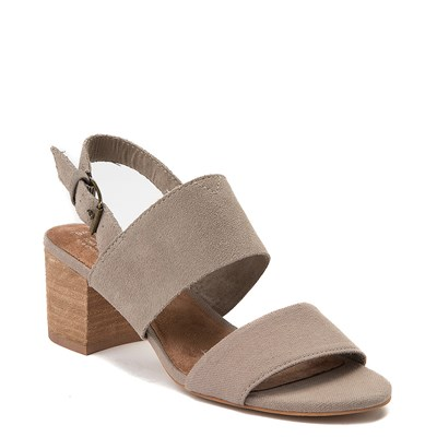 Alternate view of Womens TOMS Poppy Heeled Sandal