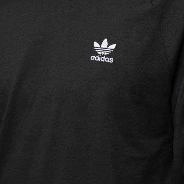 alternate image alternate view Mens adidas 3 Stripe Long Sleeve TeeALT4