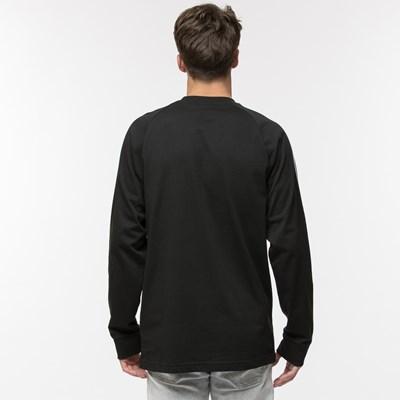 Alternate view of Mens adidas 3 Stripe Long Sleeve Tee