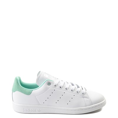 Main view of Womens adidas Stan Smith Athletic Shoe - White / Mint / Silver
