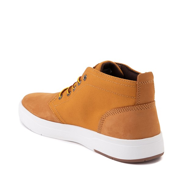 alternate image alternate view Mens Timberland Davis Square Chukka Boot - WheatALT1