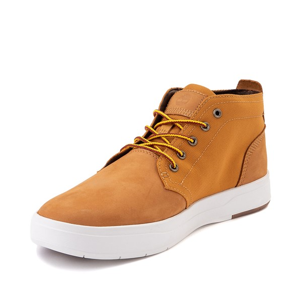 alternate image alternate view Mens Timberland Davis Square Chukka Boot - WheatALT2