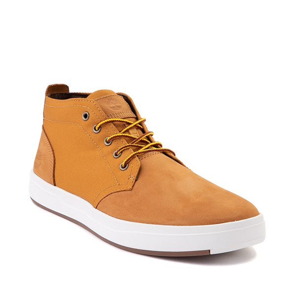 alternate image alternate view Mens Timberland Davis Square Chukka Boot - WheatALT5