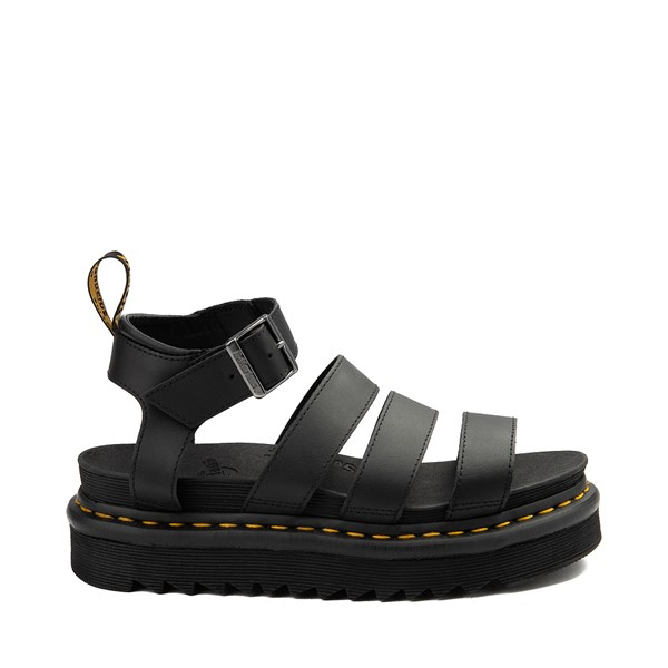 Main view of Womens Dr. Martens Blaire Sandal - Black