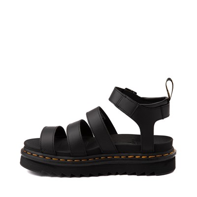 Alternate view of Womens Dr. Martens Blaire Sandal - Black