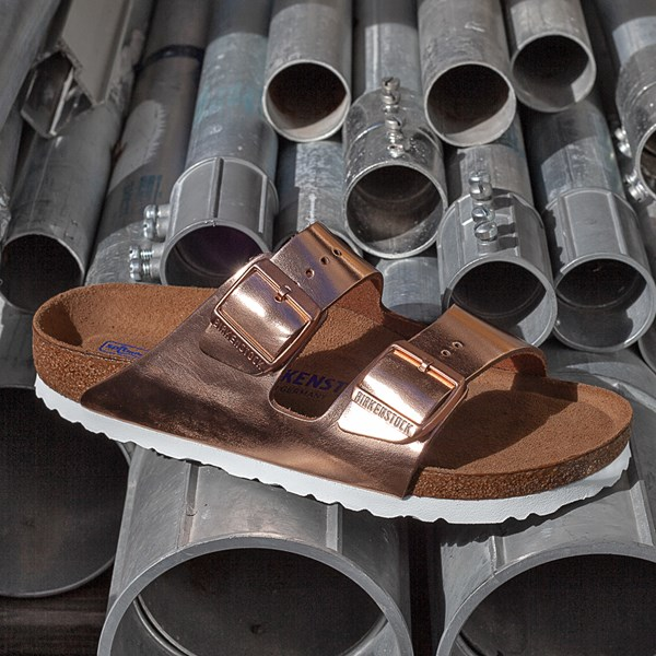 alternate image alternate view Womens Birkenstock Arizona Soft Footbed SandalALT6