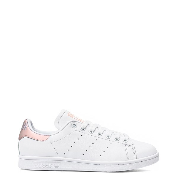 Womens adidas Stan Smith Athletic Shoe - White / Pink