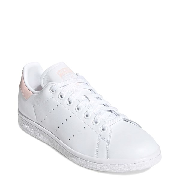 alternate image alternate view Womens adidas Stan Smith Athletic Shoe - White / PinkALT1
