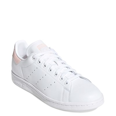 Alternate view of Womens adidas Stan Smith Athletic Shoe - White / Pink