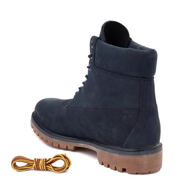 "Alternate view of Mens Timberland 6"" Classic Boot - Navy"