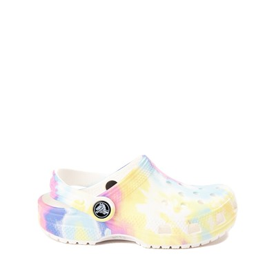 Main view of Crocs Classic Pastel Clog Sandal - Little Kid / Big Kid - Multi