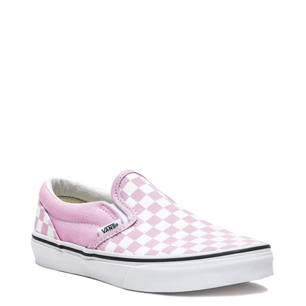 alternate image alternate view Vans Slip On Checkerboard Skate Shoe - Little Kid / Big KidALT1
