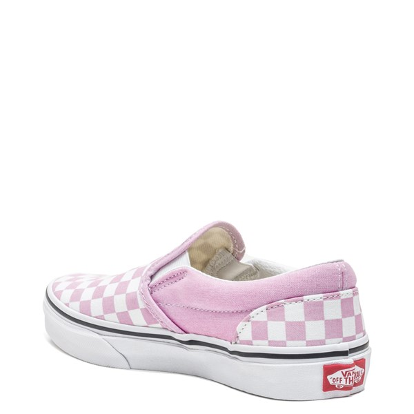 alternate image alternate view Vans Slip On Checkerboard Skate Shoe - Little Kid / Big KidALT2