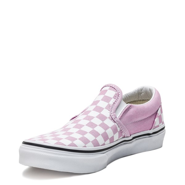 alternate image alternate view Vans Slip On Checkerboard Skate Shoe - Little Kid / Big KidALT3