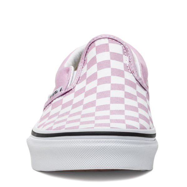 alternate image alternate view Vans Slip On Checkerboard Skate Shoe - Little Kid / Big KidALT4