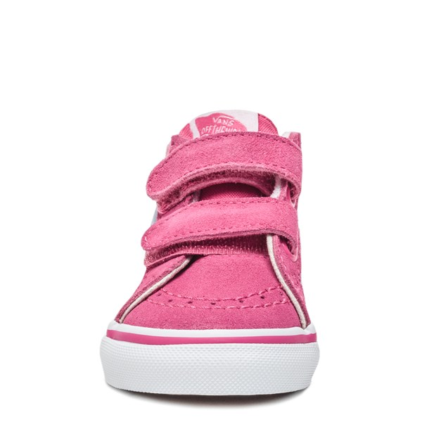 alternate image alternate view Vans Sk8 Mid V Rainbow Dragon Skate Shoe - Baby / ToddlerALT4