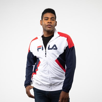 Main view of Mens Fila Oliviero Windbreaker Jacket