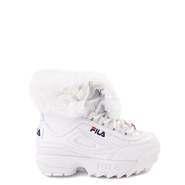 Fila Disruptor Shearling Boot - Baby / Toddler - White