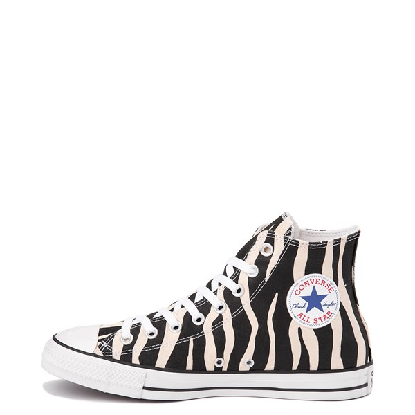 alternate image alternate view Converse Chuck Taylor All Star Hi Zebra SneakerALT1