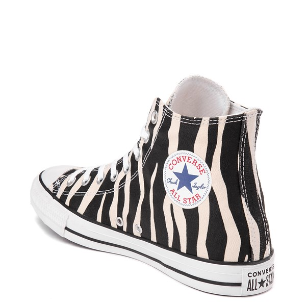 alternate image alternate view Converse Chuck Taylor All Star Hi Zebra SneakerALT2