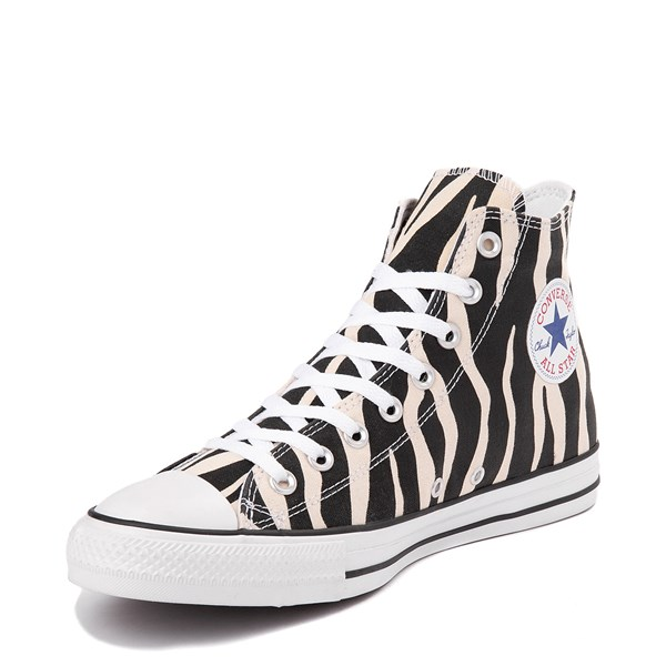 alternate image alternate view Converse Chuck Taylor All Star Hi Zebra SneakerALT3