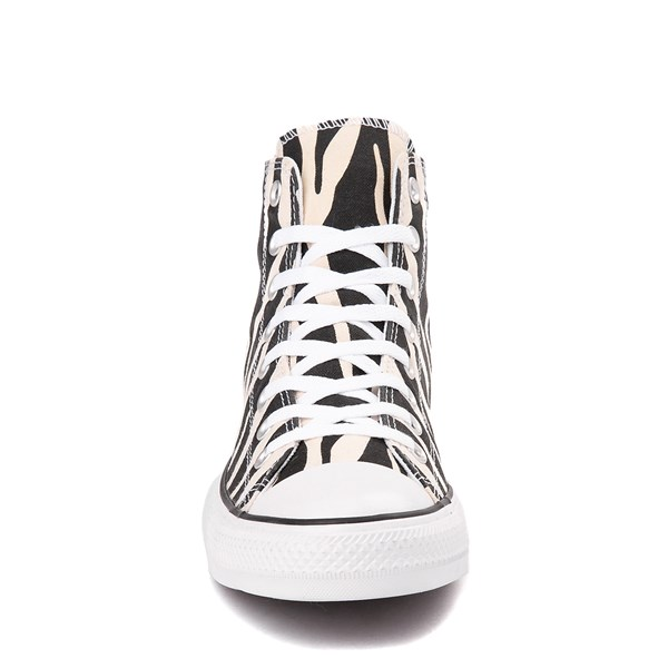 alternate image alternate view Converse Chuck Taylor All Star Hi Zebra SneakerALT4