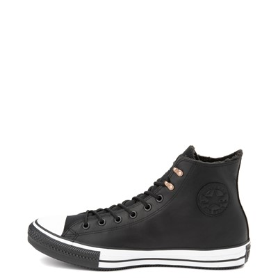 Alternate view of Converse Chuck Taylor All Star Hi Winter Sneaker - Black