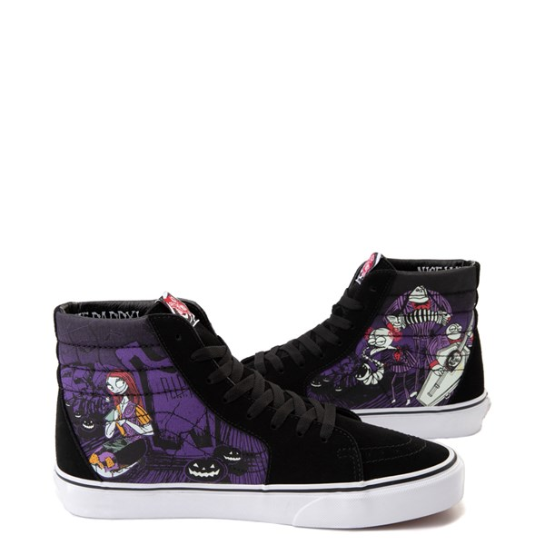 alternate image alternate view Vans x The Nightmare Before Christmas Sk8 Hi Jack's Lament Skate ShoeALT1