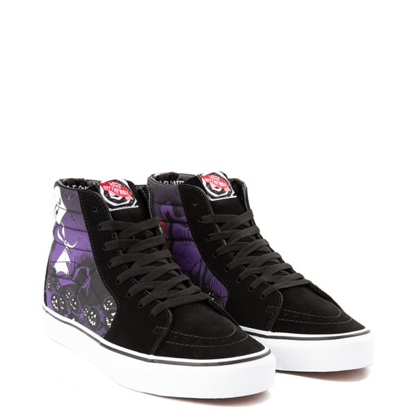 alternate image alternate view Vans x The Nightmare Before Christmas Sk8 Hi Jack's Lament Skate ShoeALT1C