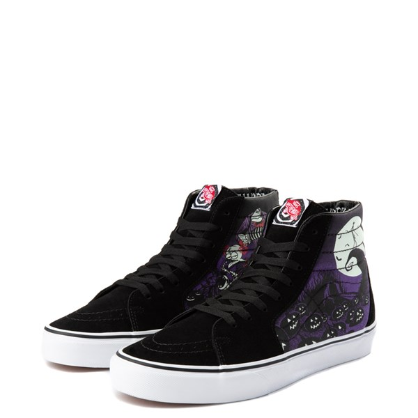 alternate image alternate view Vans x The Nightmare Before Christmas Sk8 Hi Jack's Lament Skate ShoeALT3