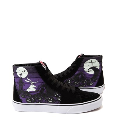 Main view of Vans x The Nightmare Before Christmas Sk8 Hi Jack's Lament Skate Shoe