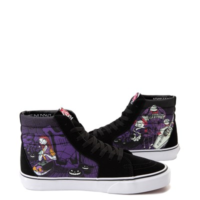 Alternate view of Vans x The Nightmare Before Christmas Sk8 Hi Jack's Lament Skate Shoe