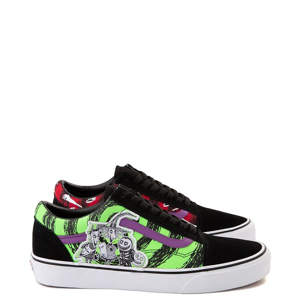 Main view of Vans x The Nightmare Before Christmas Old Skool Lock, Shock, and Barrel Skate Shoe