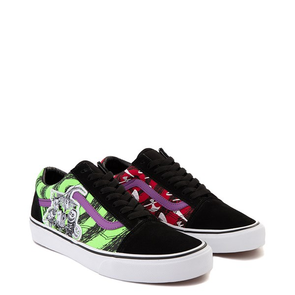 alternate image alternate view Vans x The Nightmare Before Christmas Old Skool Lock, Shock, and Barrel Skate ShoeALT1