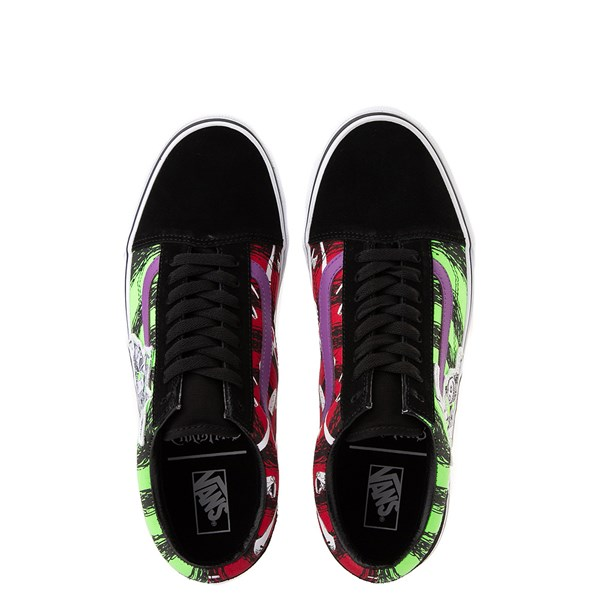 alternate image alternate view Vans x The Nightmare Before Christmas Old Skool Lock, Shock, and Barrel Skate ShoeALT1B