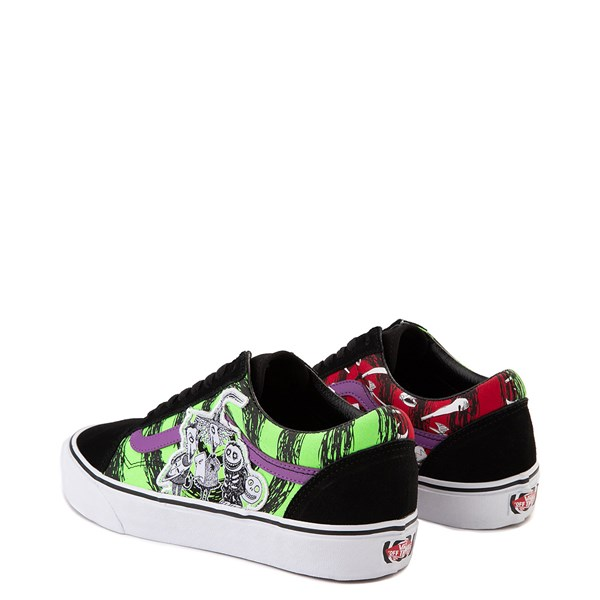 alternate image alternate view Vans x The Nightmare Before Christmas Old Skool Lock, Shock, and Barrel Skate ShoeALT2