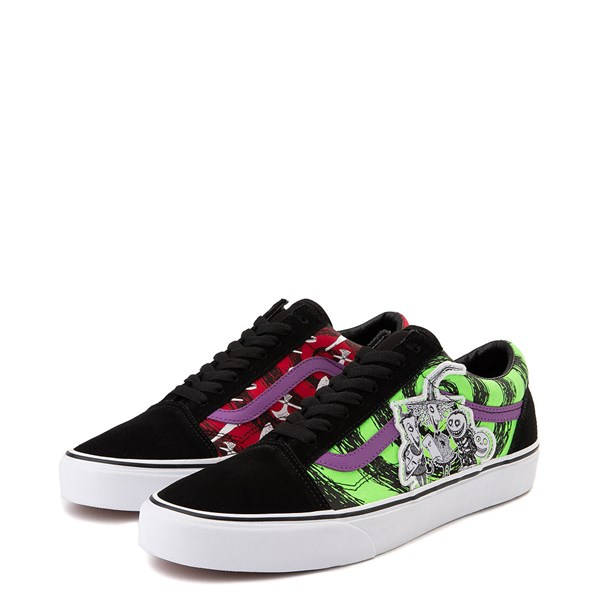 alternate image alternate view Vans x The Nightmare Before Christmas Old Skool Lock, Shock, and Barrel Skate ShoeALT3
