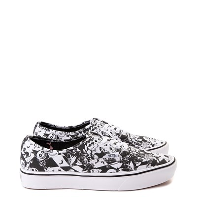Alternate view of Vans x The Nightmare Before Christmas Authentic ComfyCush® Checkerboard Skate Shoe