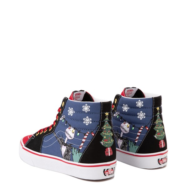 alternate image alternate view Vans x The Nightmare Before Christmas Sk8 Hi Christmas Town Skate Shoe - Red / MultiALT2