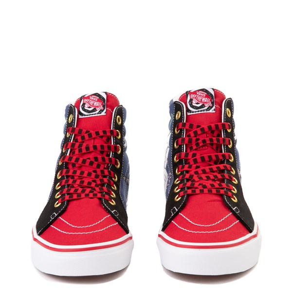 alternate image alternate view Vans x The Nightmare Before Christmas Sk8 Hi Christmas Town Skate Shoe - Red / MultiALT4