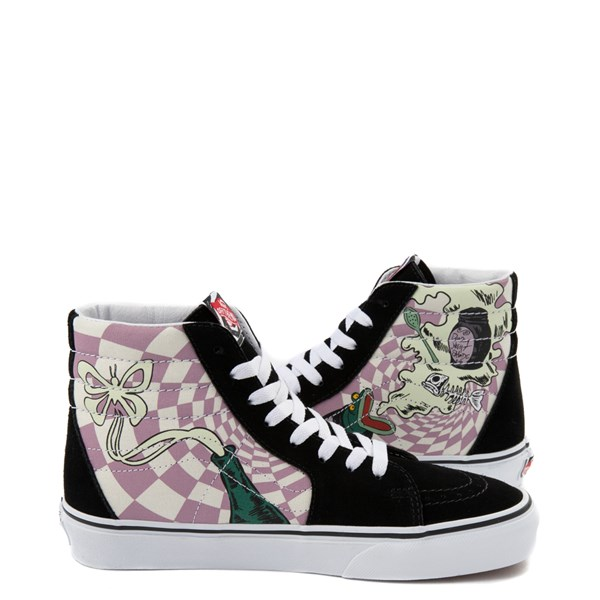 alternate image alternate view Vans x The Nightmare Before Christmas Sk8 Hi Sally's Potion Skate ShoeALT1