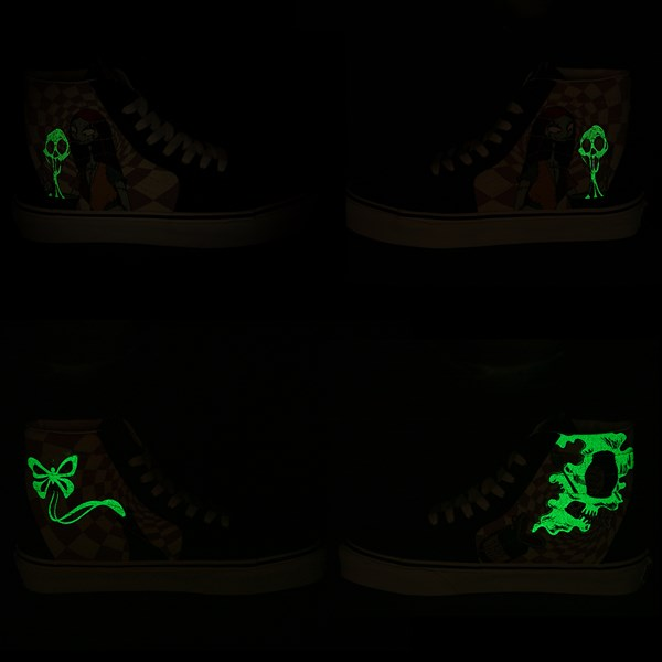 alternate image alternate view Vans x The Nightmare Before Christmas Sk8 Hi Sally's Potion Skate ShoeALT1B